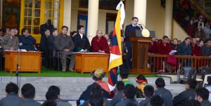 Conmemoración del Día del Levantamiento Nacional Tibetano en Dharamsala