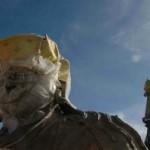 Demolición de una estatua gigante de Buda en un monasterio tibetano, confirmada por China