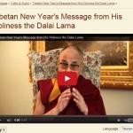 Saludo de Su Santidad el Dalai Lama por el Año Nuevo Tibetano