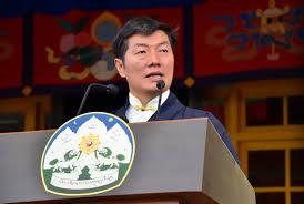 Dr. Lobsang Sangay, jefe de la Administración Central Tibetana