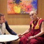 El Dalai Lama Felicita al Presidente Electo Francés, Emmanuel Macron
